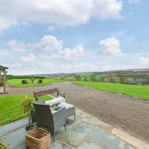 The view at higher Scholes Cottage